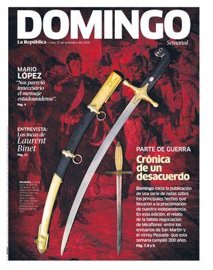 Edición Impresa - La Republica | Domingo - Domingo 27 de Setiembre del 2020
