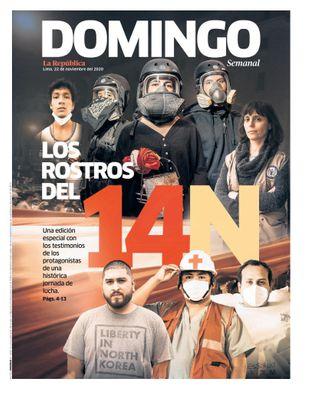 Edición Impresa - La Republica | Domingo - Domingo 22 de Noviembre del 2020