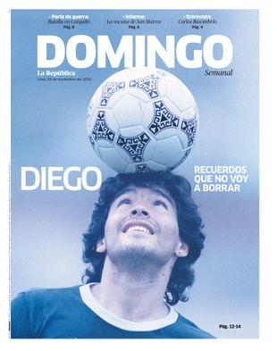 Edición Impresa - La Republica   Domingo - Domingo 29 de Noviembre del 2020