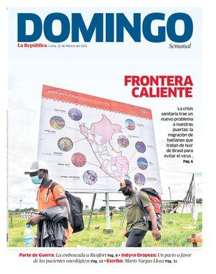 Edición Impresa - La Republica   Domingo - Domingo 21 de Febrero del 2021